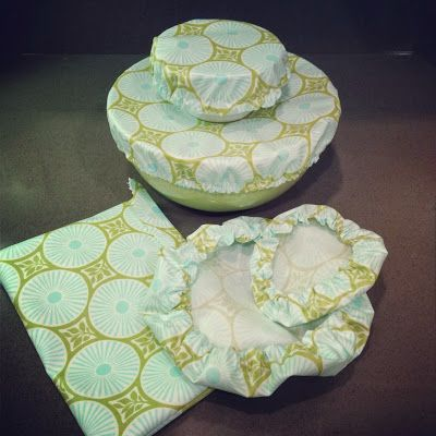 Sew some reuseable bowl covers and sandwich/snack bags Namesake Design