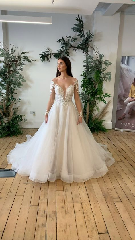 From Allure Bridals now in our boutique