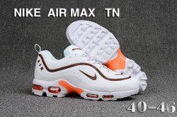 Nike Air Max Tn Kpu White Brown Men S Running Shoes Nike Air Max Nike Air Max Tn Nike Air