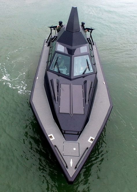 Barracuda Is Supposedly The Stealthy Interceptor Boat The World Needs Yacht Design, Boat Design, Speed Boats, Power Boats, Poder Naval, Ski Nautique, Amphibious Vehicle, Boat Projects, Cool Boats