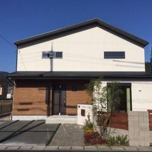 新築 南丹市 K様邸 木造住宅 かっこいい家 ハウスデザイン