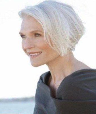 28+ Coiffure cheveux gris femme 60 ans des idees
