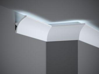 Wandleisten Led Von Dem Hersteller Decor System Seite 2 In 2020 Wandleiste Led Stuckleiste Led
