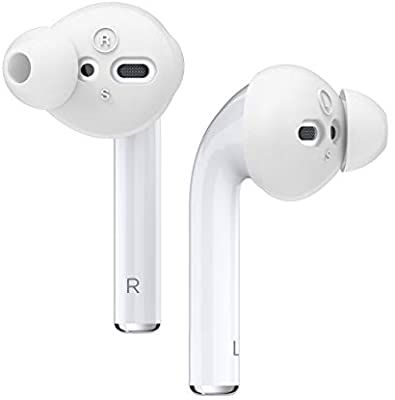 Amazon Com Elago Earbuds Cover Designed For Apple Airpods 2 1 Or Earpods 4 Pairs 2 Large 2 Small Dark Grey Elec Apple Airpods 2 Cover Design Earbuds