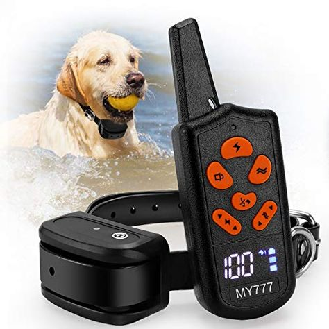 Dog Training Collar With Remote Shock Collar For Dogs Large Medium