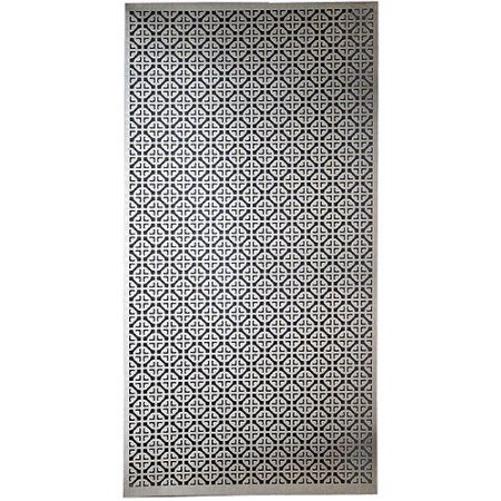 Aluminum Metal Sheet 12 X24 Mosaic Walmart Com In 2020 Metal Sheet Decorative Metal Sheets Decorative Sheets