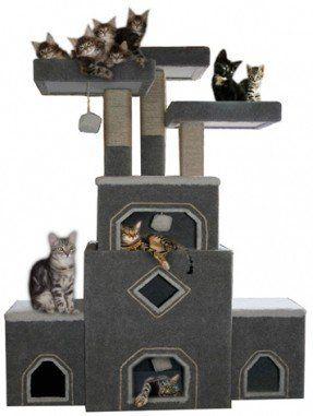 Large Cat Tree Furniture Cat Condos Ideas On Foter Cat Furniture Large Cat Tree Cat Condo