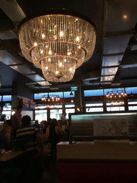 Jamie oliver restaurant in perth. | Ceiling lights, Decor