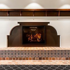 What S Your Favorite Thing About October Fireplace Weather Designer Ac Martin Los Angeles Ca Product 8 Hexagon In Span Fireplace Design Tile Design
