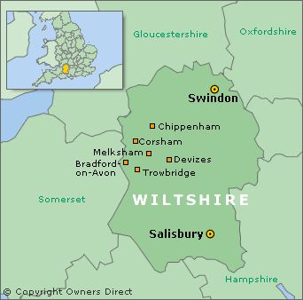 Image result for swindon wiltshire map