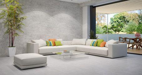 3darcastudio Photos Images Assets Adobe Stock Modern Living Room Apartment Interior Room