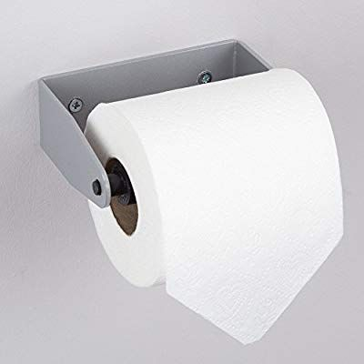 Hafele Wall Mounted Toilet Roll Holder Plastic Metal Matt