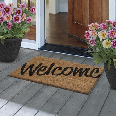 homely idea personalized door knocker.  Hello Coco Door Mat Apartments Porch and Front porches