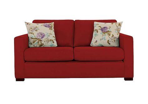 Furniture Village Dante furniture village dante 2 seater fabric sofa elegant, contemporary