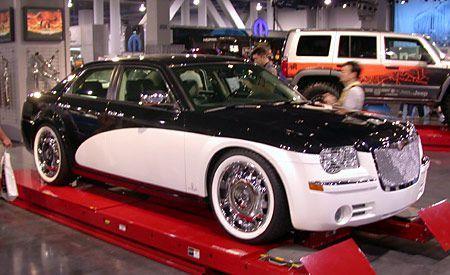 Chrysler 300c With Santini Paint Job Chrysler 300c Chrysler 300