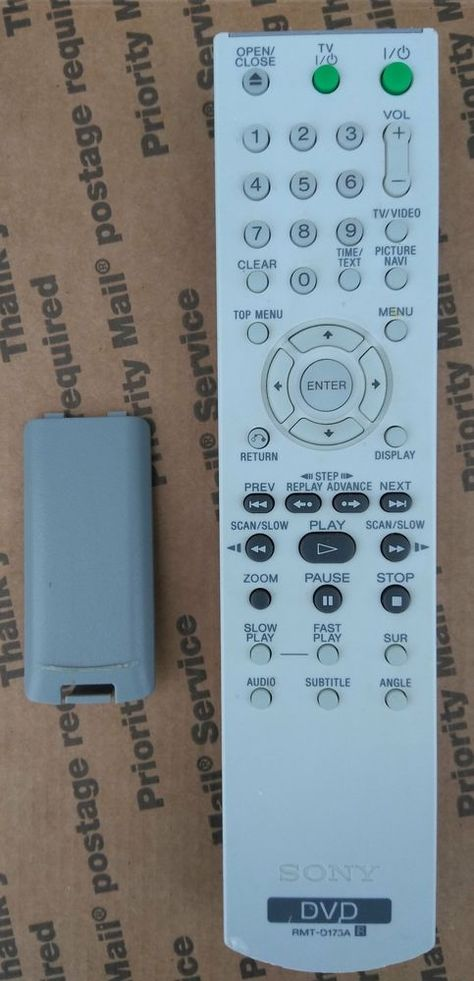 Sony RM-SCP1 Factory REMOTE Control For Audio System CMTCP1 ...