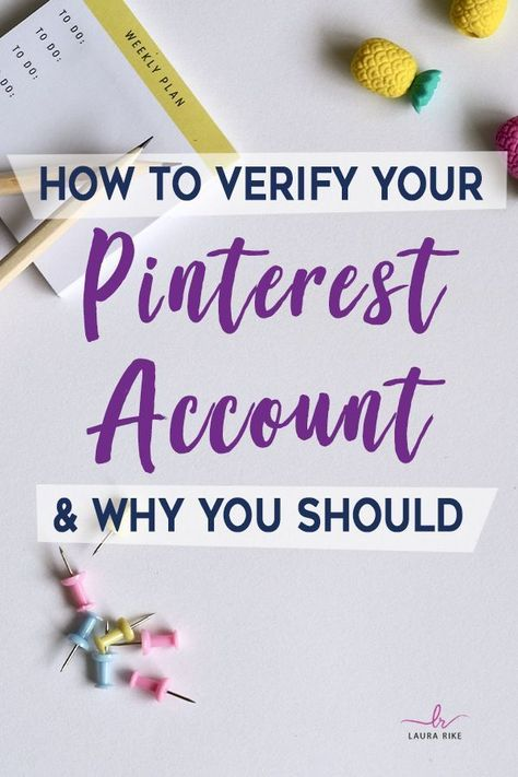 Pinterest is a great way to further social networking and continuity in your brand. If you have not yet verified your Pinterest account, you should do it right now. Click through to read why you should and how to do it. #pinterestforbusiness #pinterestmarketing