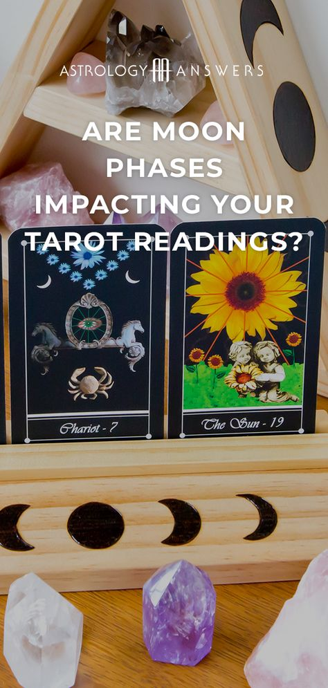 Waxing, Waning, New Moon, Full Moon... do the phases of the Moon affect your Tarot readings? #moon #newmoon #fullmoon #tarot #tarotreadings #tarotspreads #moontarot #tarotforthefullmoon #tarotforthenewmoon #moonphases #moonphasetarot