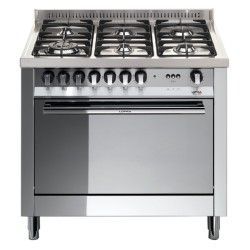 Lofra Mg96mf Cis 90x60 Cucina Con Piano In Acciaio Lucidato A Specchio 6 Fuochi A Gas Forno Multifun Forno Elettrico Sala Da Pranzo E Cucina Cucine Specchi