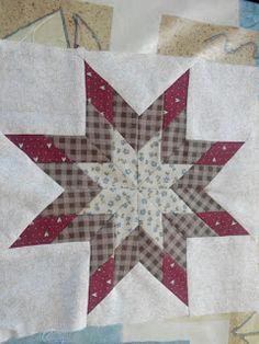 Patrones Para Cojines Patchwork.Aprende Patchwork Facil Tutorial Estrella De 8 Puntas