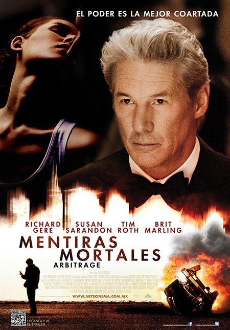 Mentiras Mortales Independiente 10 De Diciembre Movie Posters Richard Gere Movies