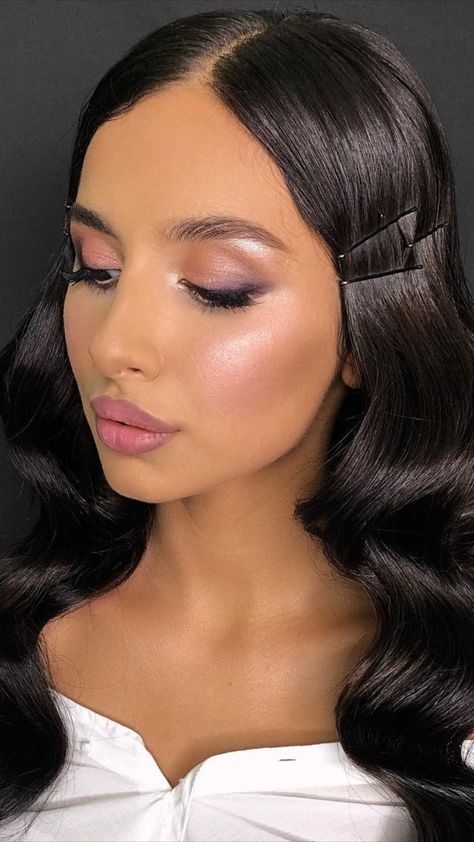 Soft Glam Makeup Look Tutorial Idea