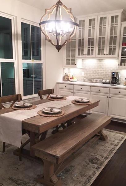 Fancy X Trestle Table In 2019 Decor Ideas Kitchen Island Decor