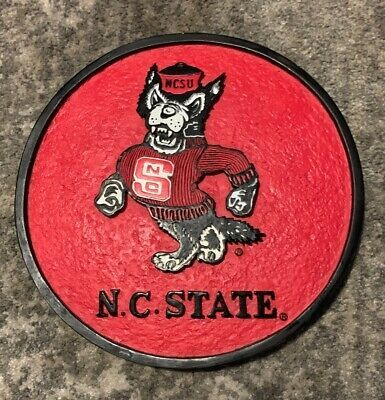 Ncsu Nc State Wolfpack Wall Art Ceramic Plaque C57276931 8 X 8 Ebay Nc State Wolfpack Wall Art Nc State