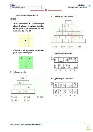 2 Juegos De Ingenio Imprimir Juegos De Ingenio Juegos De Logica Juegos De Logica Matematica