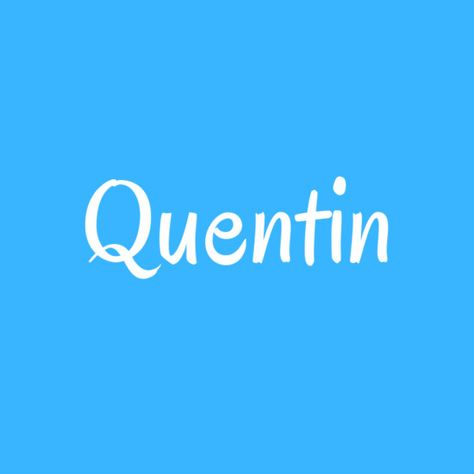 Quentin - Cool Baby Names That Aren't Super Popular - Photos