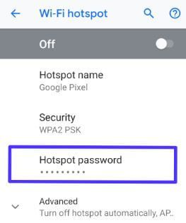 How to change wifi hotspot password on Android 9 | Best