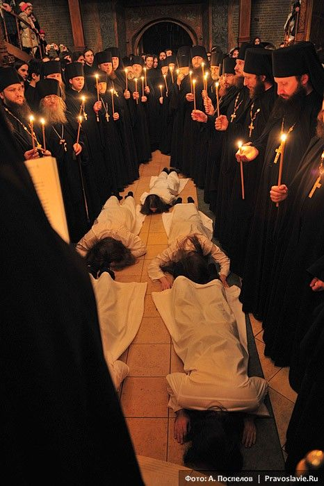 Tonsure of Orthodox monks