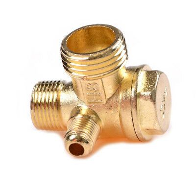 Ad Ebay Url Air Compressor 3 Port Brass Male Threaded Check Valve Connector Tool Twusnibcrdr In 2020 Air Compressor Gas Compressor Compressor Hose