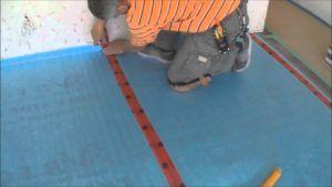 laying laminate flooring underlay