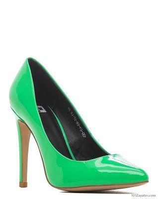 zapatillas de deporte para baratas 5c8a0 5087a Tacones Verdes | Zapatos de moda en 2019 | Tacones, Zapatos ...