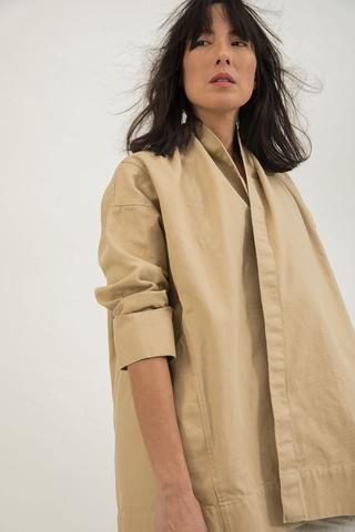 Clyde Jacket in Cotton Canvas – Elizabeth Suzann
