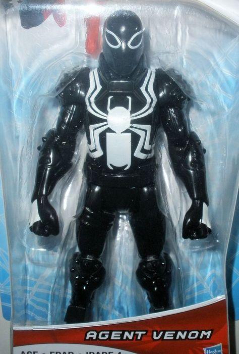 Marvel Agent VENOM Ultimate Spider-man Web Warriors 6 ... - photo#27