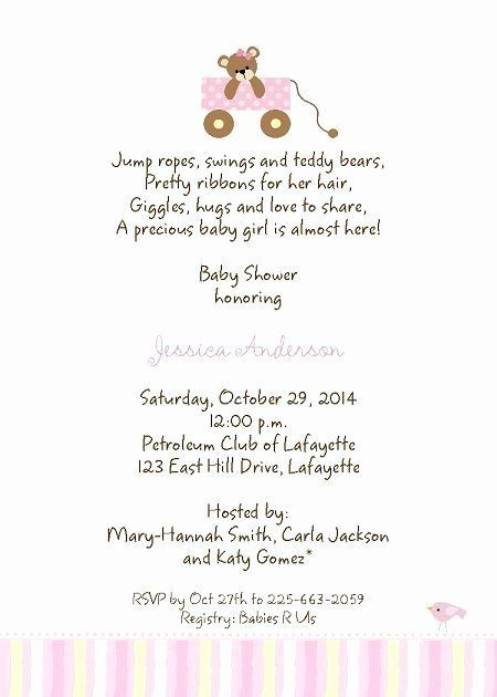 Baby Shower Invitation Quotes Best Of Baby Shower Invitation Wordi Baby Shower Invitation Wording Simple Baby Shower Invitations Baby Shower Invitation Message