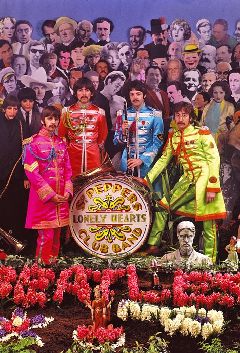 Sgt. Pepper's photo session