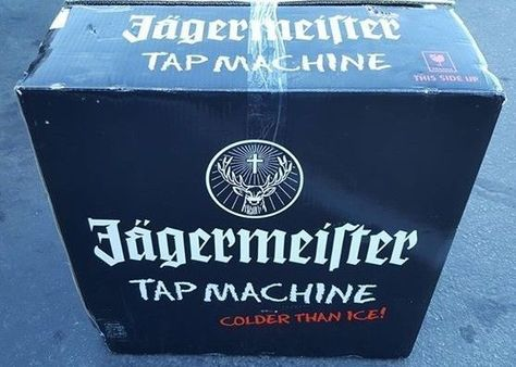 Jagermeister 3 Bottle Ice Cold Shots Tap Machine Jemus Bar Beverage Dispenser…