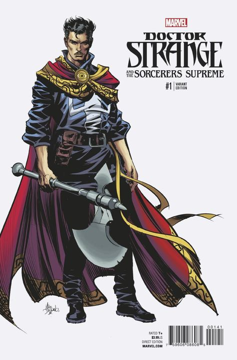 DOCTOR STRANGE AND THE SORCERERS SUPREME #1 Brings the Magic to Marvel NOW! in October! | DisKingdom.com | Disney | Marvel | Star Wars - Video Game News