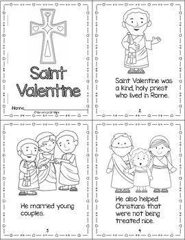 Catholic Saint Valentine Activities Valentine Activities Sunday