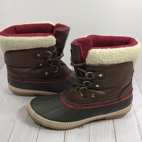 Tommy Hilfiger duck boots Size 9