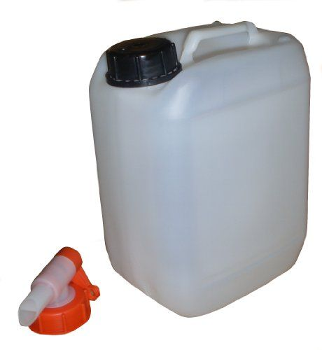 Peak Outdoors Plastic Fresh Water Container Jerry Can Tap 25 L Litre Camping Caravanning Motorhome Boat 9 99 Water Containers Camping Motorhome