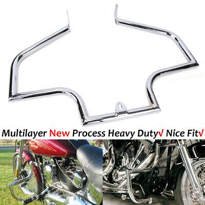 Advertisement Ebay Chrome Engine Guard Highway Crash Bar For Harley Heritage Softail Springer In 2020 Motorcycle Parts And Accessories Harley Softail Softail Deluxe