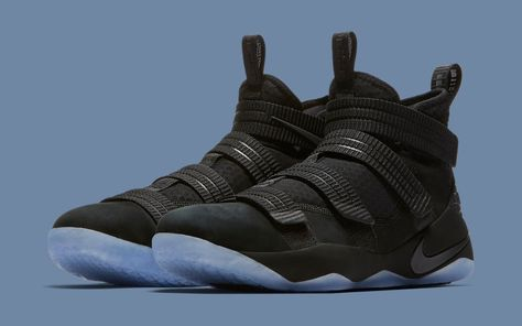 first rate 269e3 47c06 Black Ice Nike LeBron Soldier 11 897646-001 Strive for Greatness Release  Date   Sole Collector