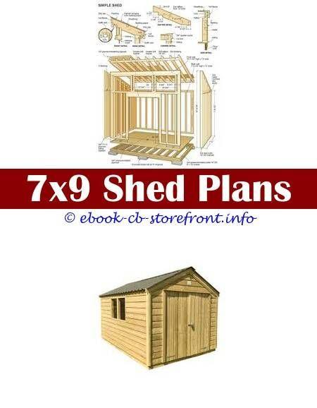 Pin En Garage Shed Building Plans