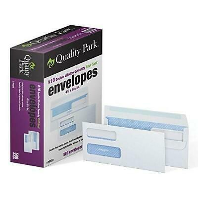 Quality Park 10 Double Window Self Seal Security Envelopes For Business 85227245595 Ebay In 2020 Security Envelopes Double Window Business Envelopes