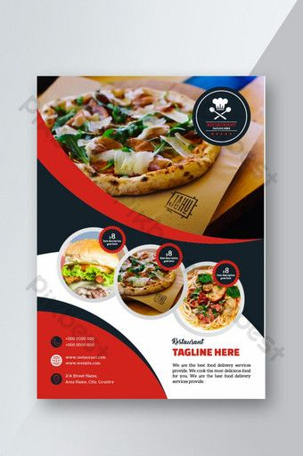 Restaurant Flyer Design Psd Free Download Pikbest Restaurant Flyer Best Meal Delivery Food Graphic Design