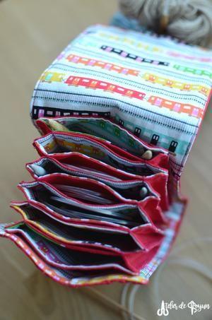 Circular Needle Holders Atelier De Soyun Patrones De Bolso Bolsos De Tela Patrones